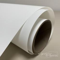 Rouleau de papier couché blanc 95g/m² 1.37m x 45m