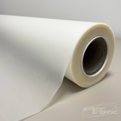 Vinyle Adhésif Blanc Brillant - 240g/m² - 1,52m x 20m