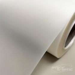 Vinyle Adhésif Blanc Brillant - 240g/m² - 1,27m x 20m