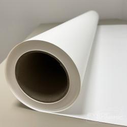 Rouleau de Vinyle Auto-Adhésif Blanc Mat 250g/m² - 1,270m x 20m