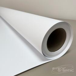Vinyle Auto-Adhésif Blanc Mat - 250g/m² - 0.914x 30m - 280µ - 150g/m² sans liner