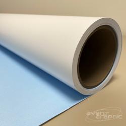 Papier extérieur dos bleu 120g