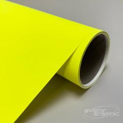 Papier couché jaune fluo 95g
