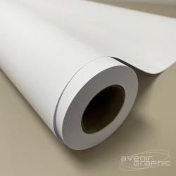 Papier non couché blanc 120g/m² - 1.016m x 120m - mandrin 3''