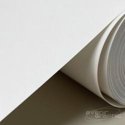 4 rouleaux de papier blanc non couché 90g/m² - 0.610m x 50m