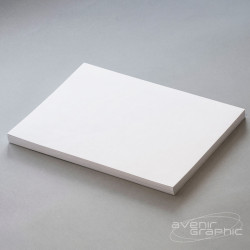 Papier couché blanc M1 125g/m² - 0.914m x 91.4m - mandrin 3''