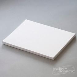 Film polyester blanc A3